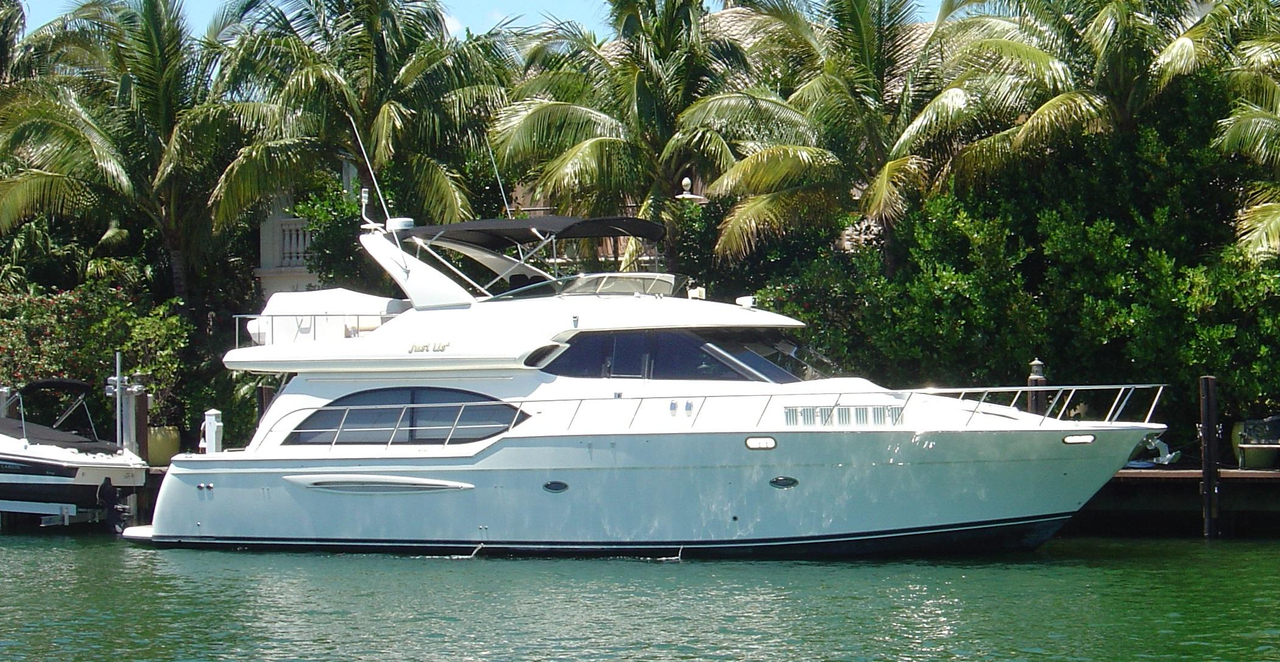 2007 used meridian pilothouse motoryacht motor yacht for for Motor yachts for sale in florida