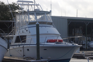 Used Bertram Mark 3 Convertible Sports Fishing Boat For Sale