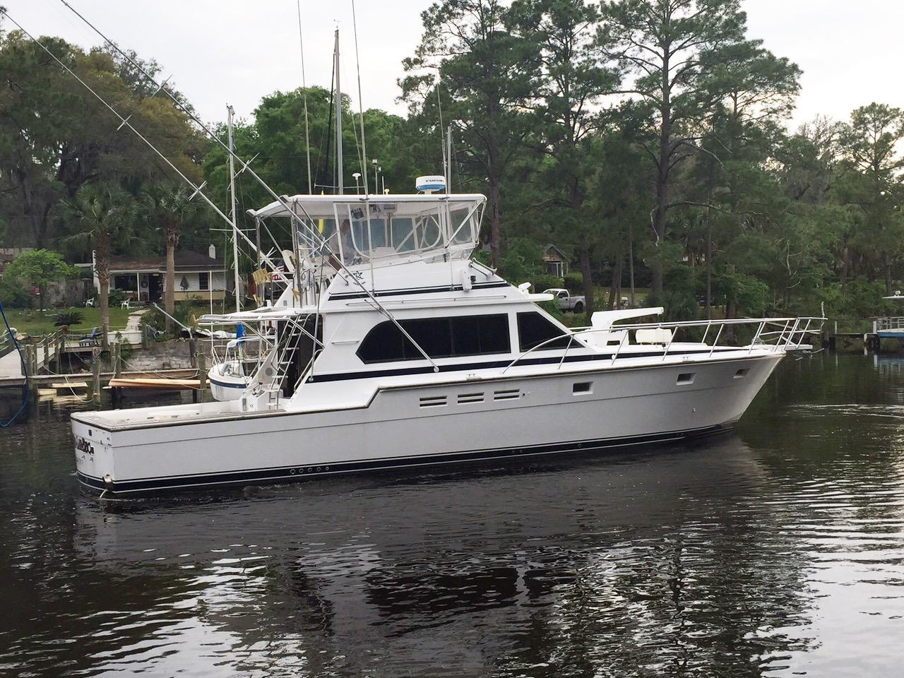 1989 used hi star sport fishermansport fisherman sports for Sport fishing boats for sale by owner