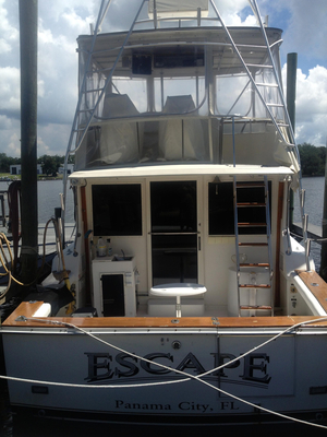 Used Pearson 38 Convertible Fishing Boat For Sale