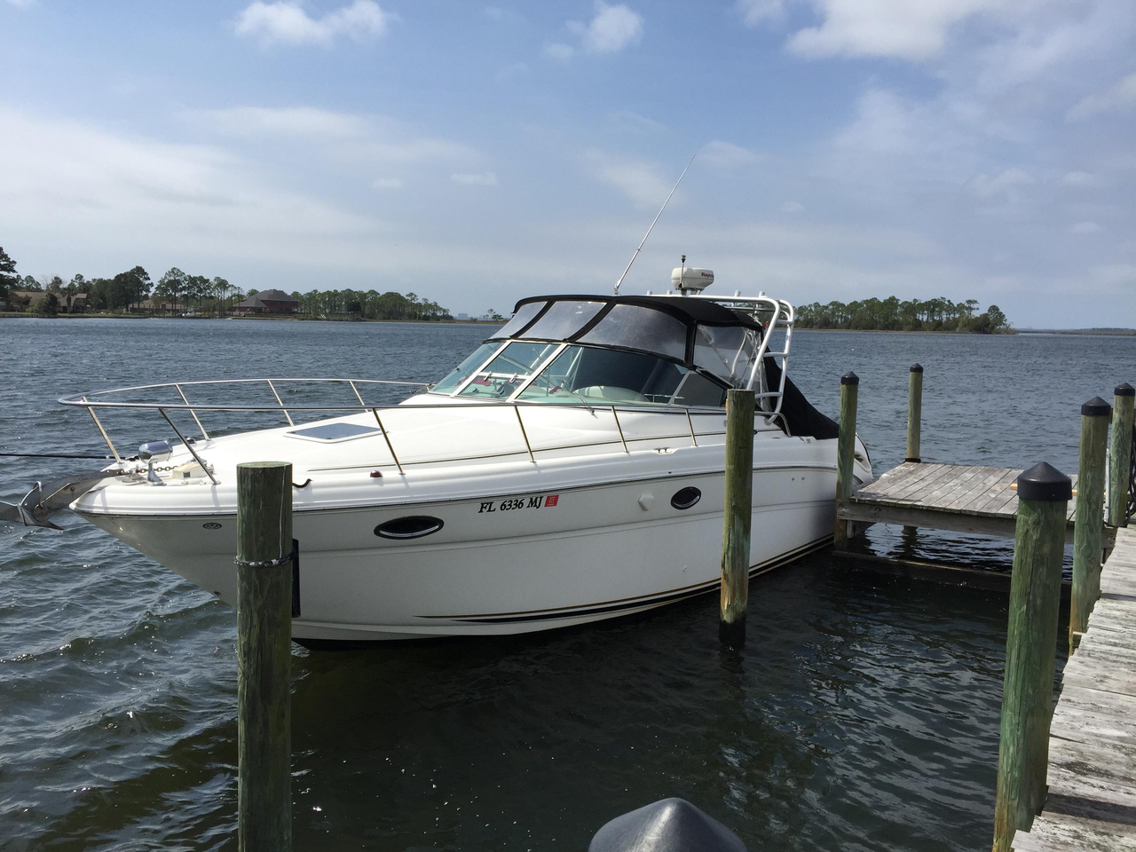 2003 used sea ray 290 amberjack saltwater fishing boat for for Sea ray fish