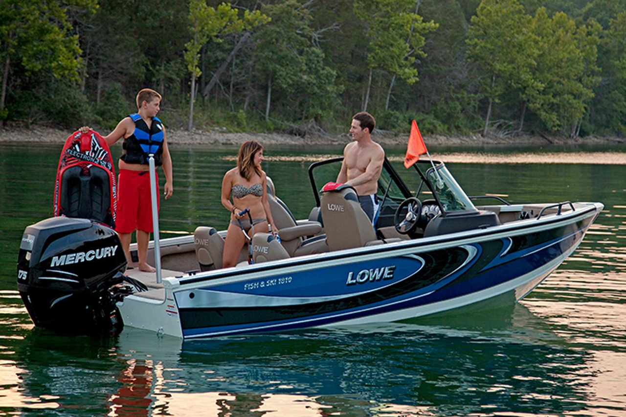 2016 new lowe fish ski fs1810 ski and fish boat for sale for Fish and ski boat