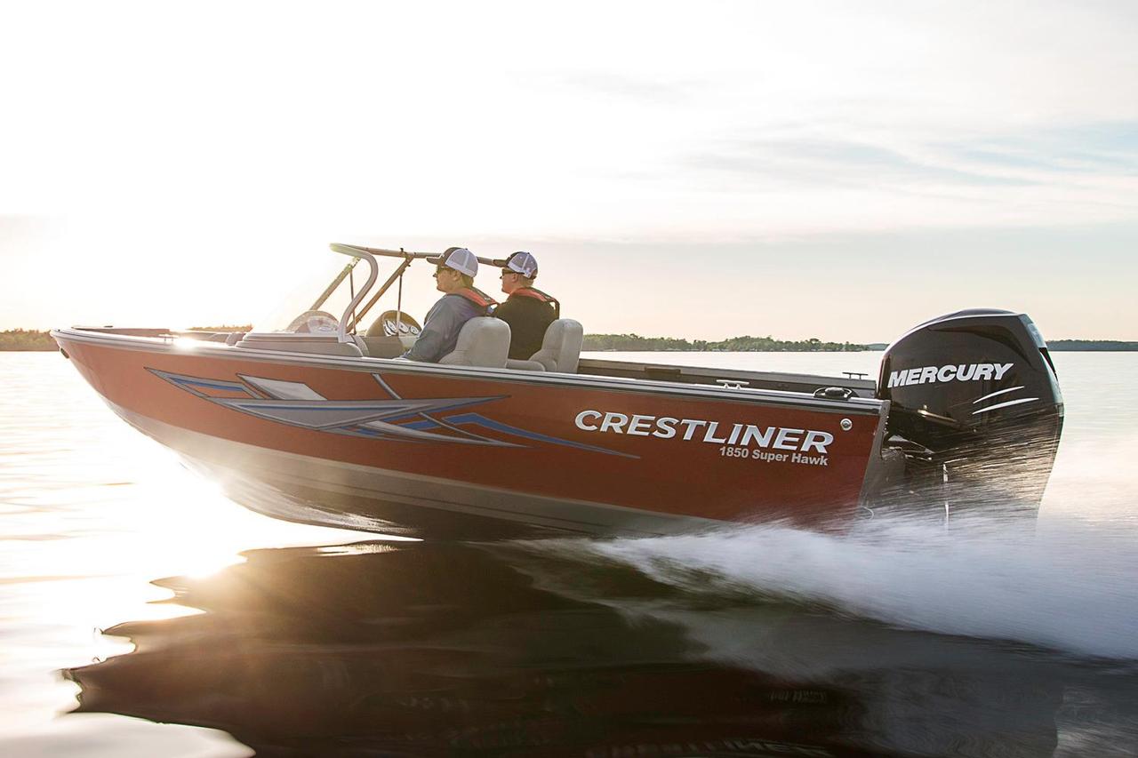 2016 new crestliner 1850 super hawk aluminum fishing boat for New fishing boats for sale