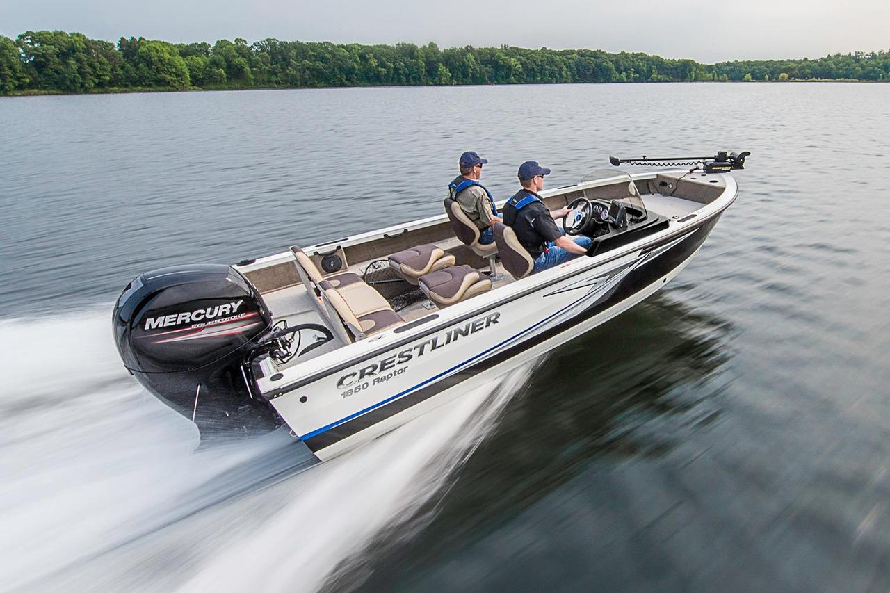 2016 new crestliner 1850 raptor wt aluminum fishing boat for New fishing boats