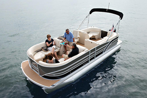New Cypress Cay Cozumel 220 Pontoon Boat For Sale
