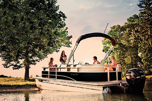 New Cypress Cay Cambio FS 160 Pontoon Boat For Sale