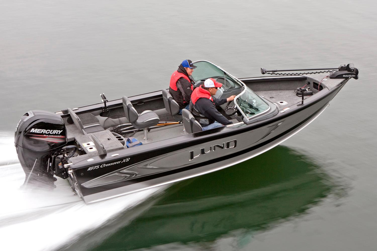 2016 new lund 1875 crossover xs ski and fish boat for sale for Fish and ski boat