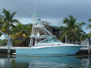 Used Cabo 35 Express Convertible Fishing Boat For Sale
