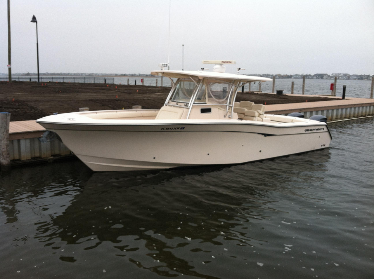 2008 used grady white canyon 336 saltwater fishing boat for Off shore fishing boats
