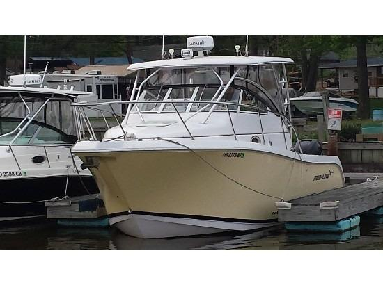2007 used pro line 29 express walkaround fishing boat for for Used fishing boats for sale in md