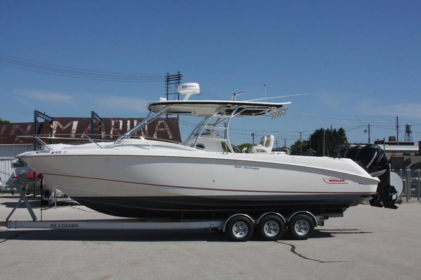 2007 Used Boston Whaler 320 Outrage Cuddy Cabin Saltwater