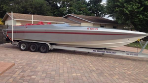 Used Scorpion 35 Express Cruiser Boat For Sale