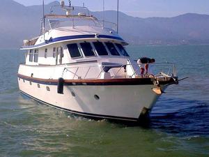 Used Alum Tech Trawler 65 Custom Trawler Boat For Sale