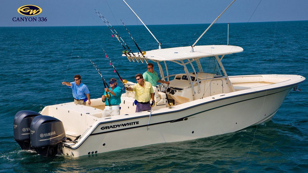 New Grady White Canyon 336 Center Console Fishing Boat For Sale