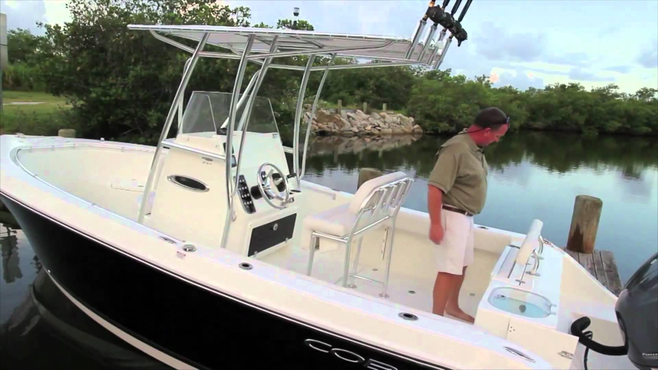 2016 new cobia boats 237cc center console fishing boat for for Fishing boat cost