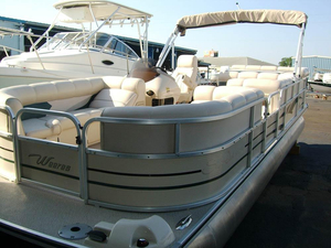 Used Weeres SUN DECK 240 SE Pontoon Boat For Sale