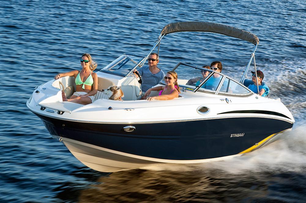 2016 New Stingray Boats 234lr Sport Deck Boat For Sale