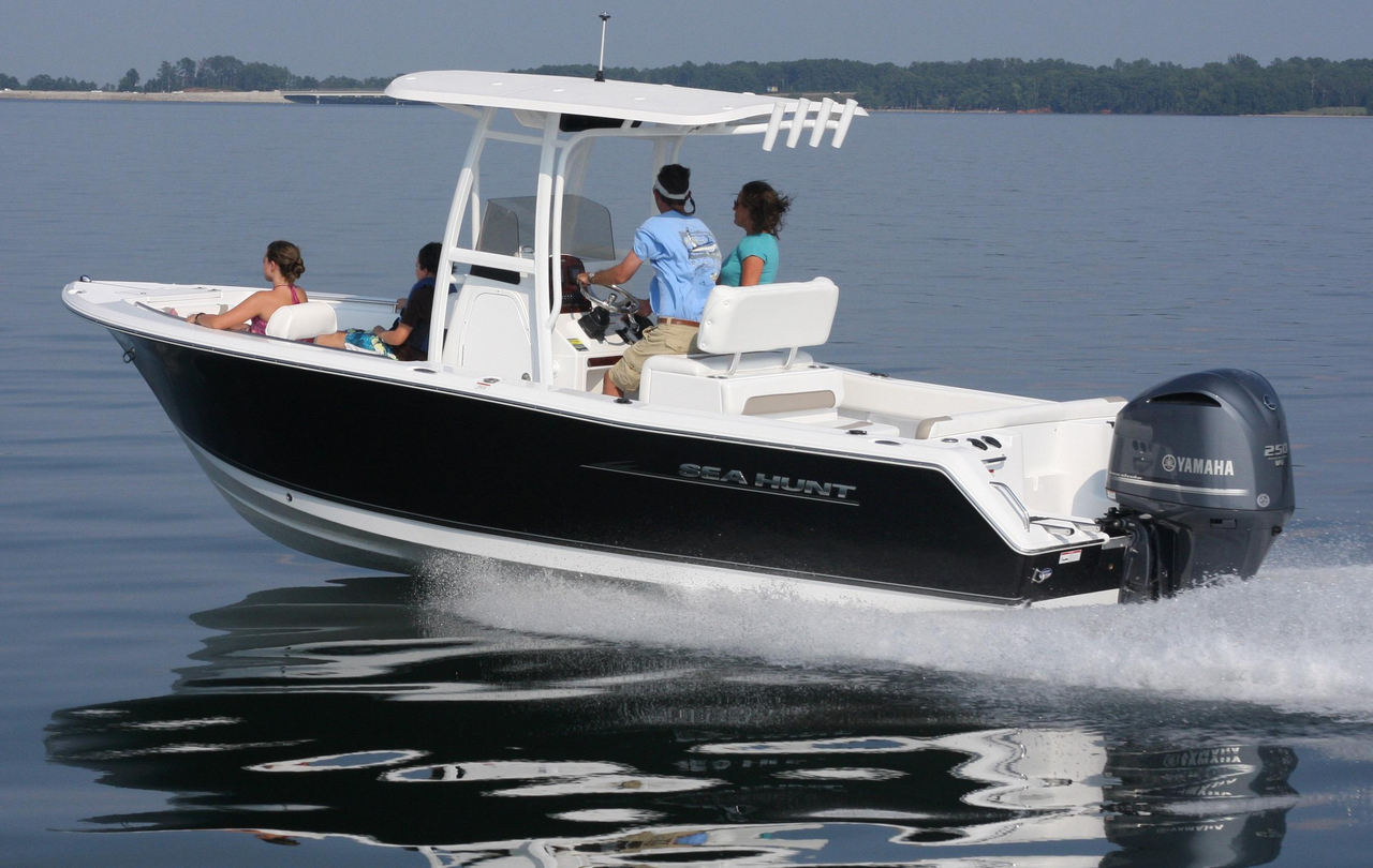 2016 new sea hunt ultra 234 center console fishing boat for Sea fishing boats