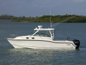 New Boston Whaler 315 Conquest Pilothouse Boat For Sale
