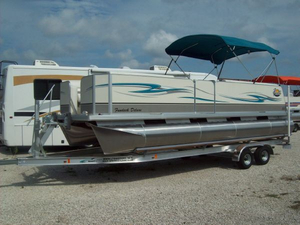 New Fiesta 22' FUNDECK Pontoon Boat For Sale