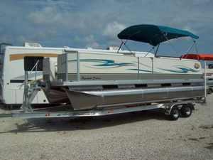 New Fiesta Marine FUNDECK 22 Pontoon Boat For Sale