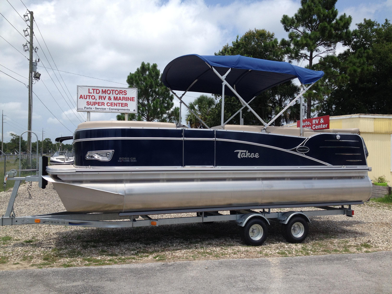 2014 new tahoe pontoon cascade 20 39 pontoon boat for sale