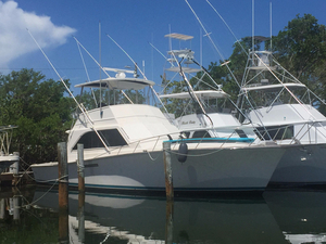 Used Ocean 46 Convertible Fishing Boat For Sale
