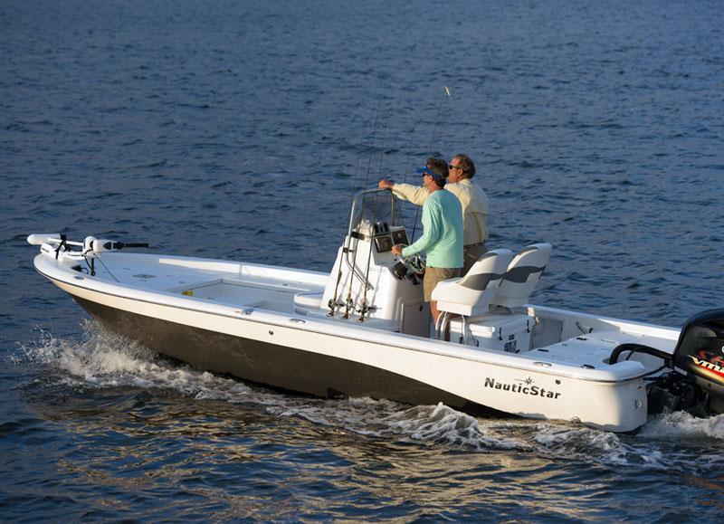 2017 New Nautic Star 227 XTS Center Console Fishing Boat ...