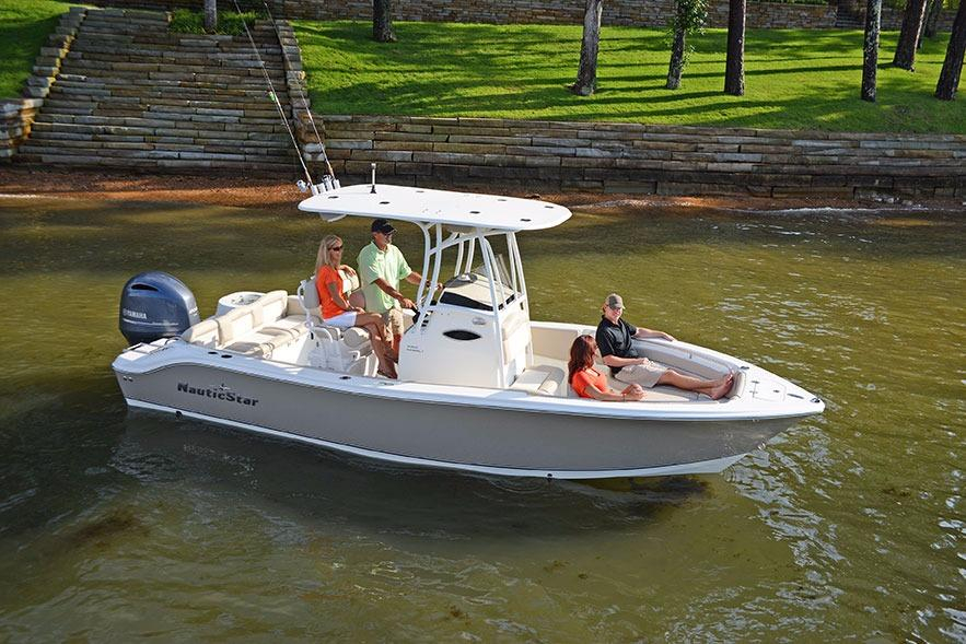 2017 New Nautic Star 2302 Legacy Center Console Fishing ...