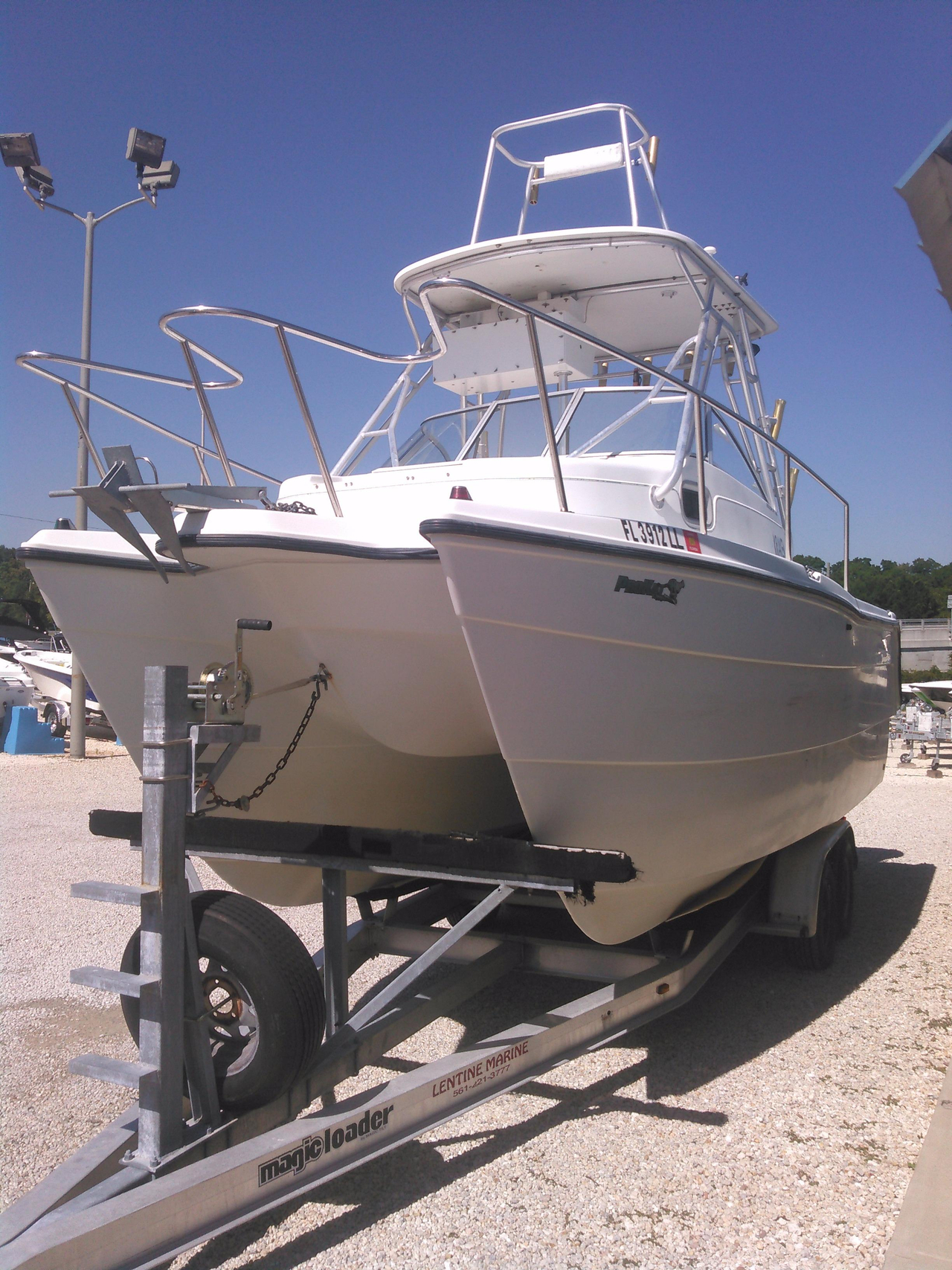2000 used pro sports 2200 wa prokat saltwater fishing boat for Offshore fishing boats for sale