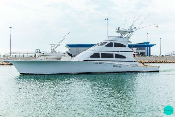 1995 used lydia yachts sport fish sports fishing boat for for Used sport fishing boats for sale