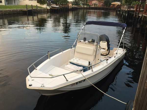1997 used scout center console fishing boat for sale for Used fishing boats for sale in florida