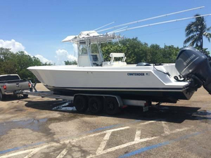 Used Contender 33 Center Console Center Console Fishing Boat For Sale