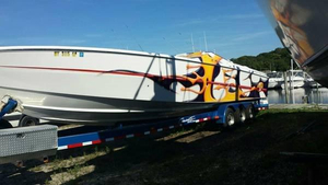 Used Cigarette Racing Top Gun 38 High Performance Boat For Sale