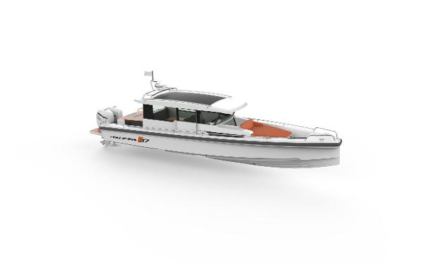 New Axopar 37 AC Center Console Fishing Boat For Sale
