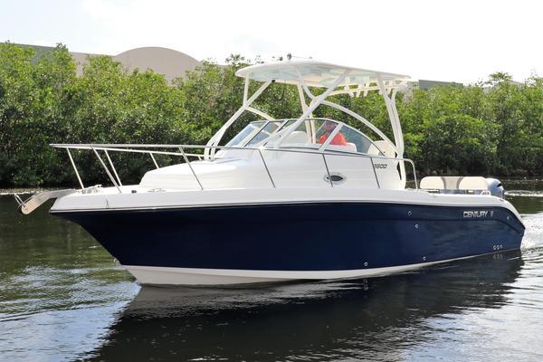 New Century 2600 Walkaround Fishing Boat For Sale