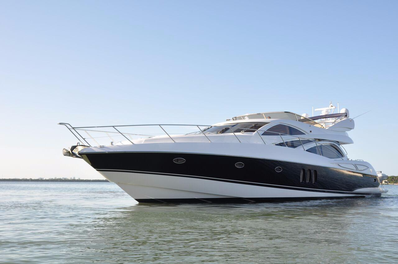 2004 used sunseeker manhattan 64 motor yacht for sale for Motor yachts for sale in florida