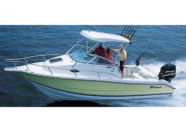 Used Triton 2486 WA Saltwater Fishing Boat For Sale