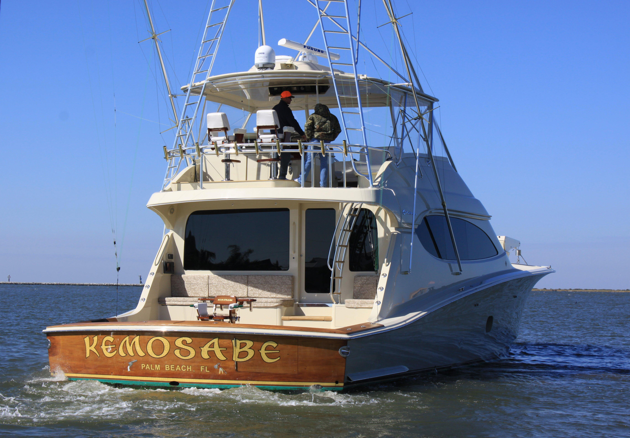 2007 used hatteras 68 convertible fishing boat for sale for Hatteras fishing boat