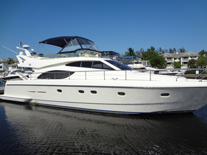 Used Ferretti Flybridge Boat For Sale