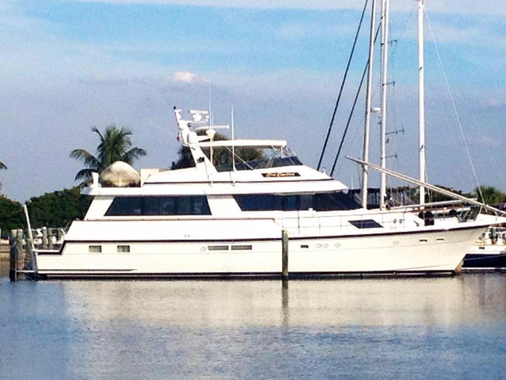 1989 used hatteras cpmy motor yacht for sale 549 000 for Used motor yacht for sale