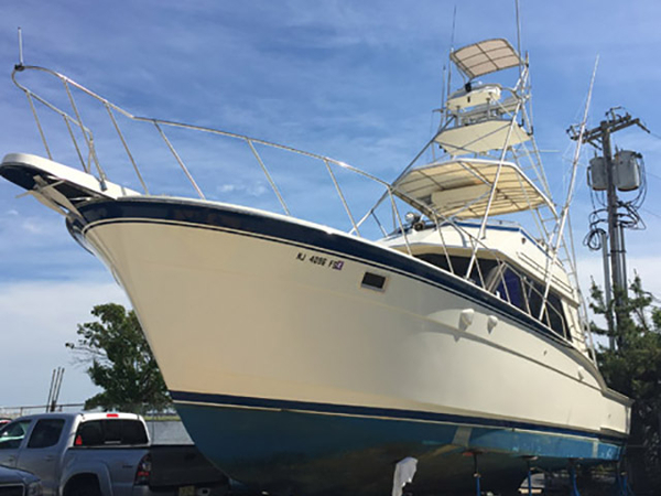 1986 used hatteras 45 39 hatteras convertible sports fishing for Hatteras fishing boat