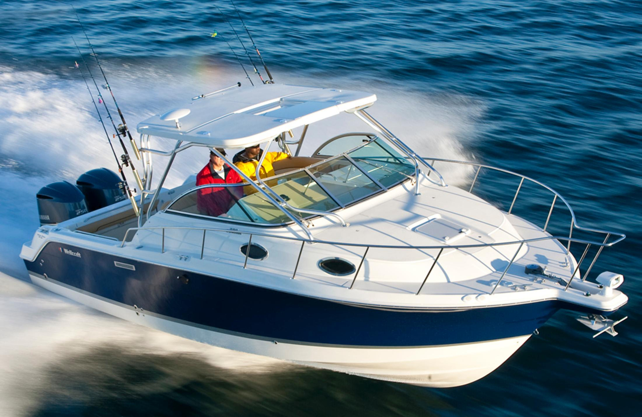 2016 new wellcraft 290 coastal walkaround fishing boat for for Fishing boat for sale