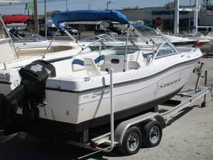 Used Seaswirl Striper 21 Dual Console OB Dual Console Boat For Sale