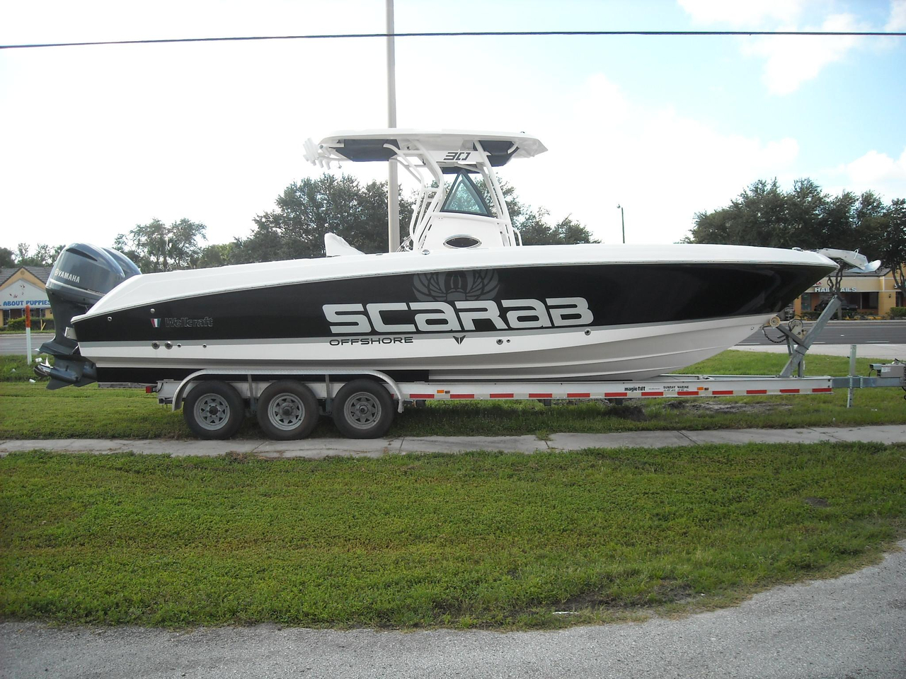 2016 new wellcraft scarab 30 offshore tournament center for Offshore fishing boats for sale