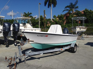 Used Mako 17 CC Commercial Boat For Sale