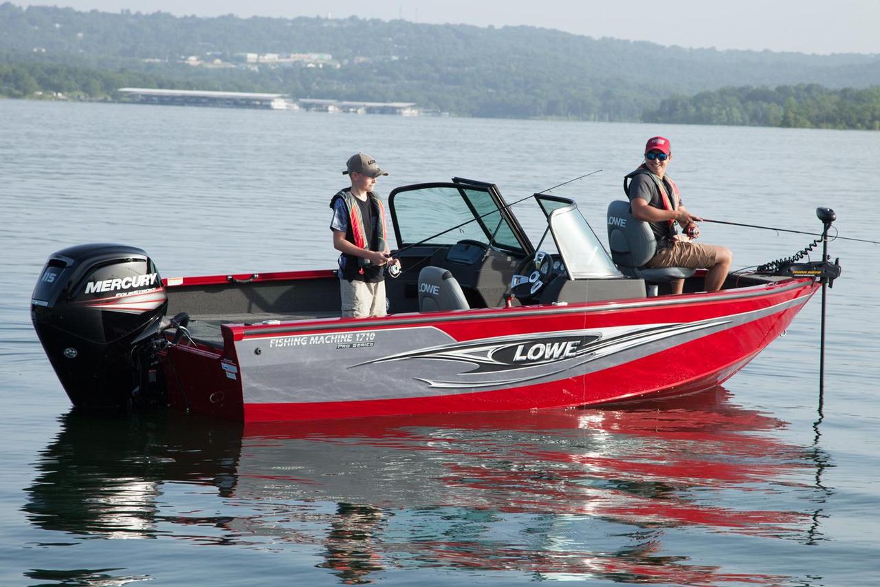 2016 new lowe fm 1710 pro wt aluminum fishing boat for for Metal fishing boat