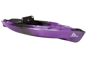 New Ascend D10 Sit-In (Purple/Black) Kayak Boat For Sale