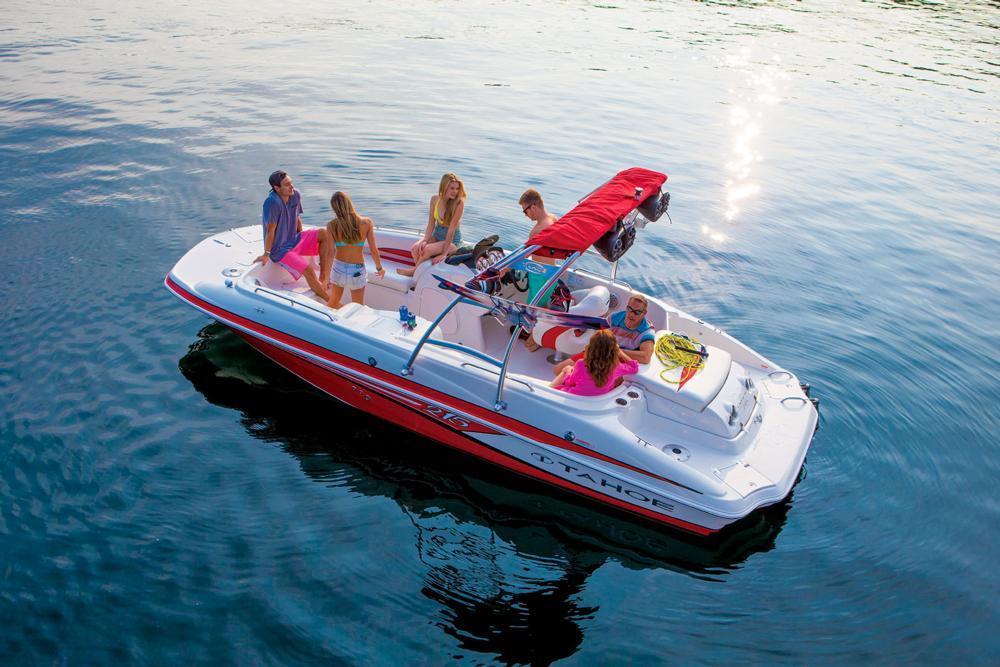 Deck Boat: Tahoe 215 Xi Deck Boat For SaleDeck Boat - blogger