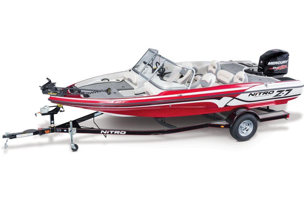 2016 new nitro z7 sport ski and fish boat for sale for Nitro fish and ski